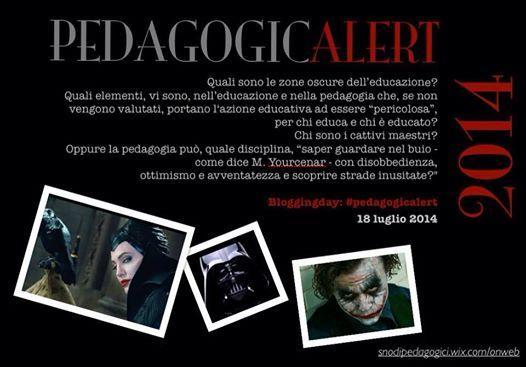 """Blogging day Snodi Pedagogici #pedagogicalert ... """"Nun te reggea più!"""" (1/2)"""