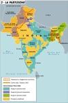 L'indipendenza indiana e la partizione del 15 agosto1947.