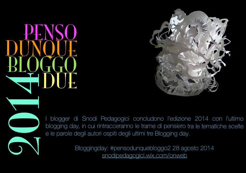 #pensodunquebloggodue ; nuovo bday di Snodi Pedagogici (1/2)