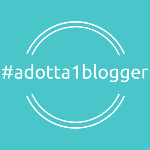 #adotta1blogger quadrata